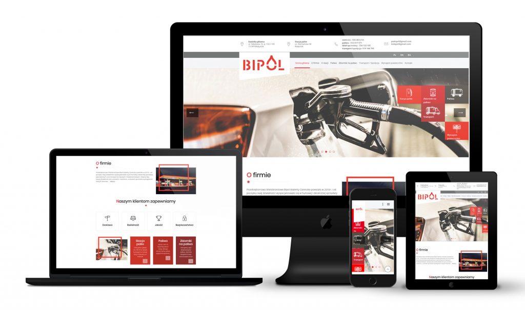 Realizacja witryny internetowej w WordPressie: bipol.com.pl