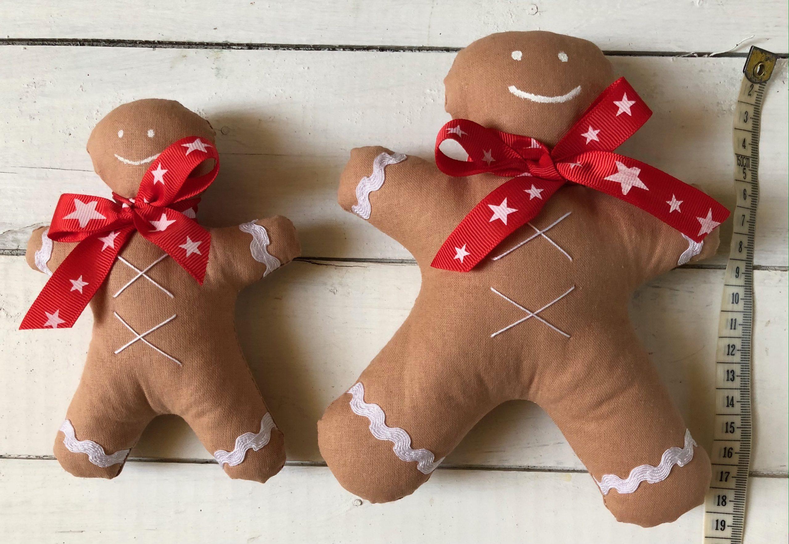Para pierniczków bożonarodzeniowych